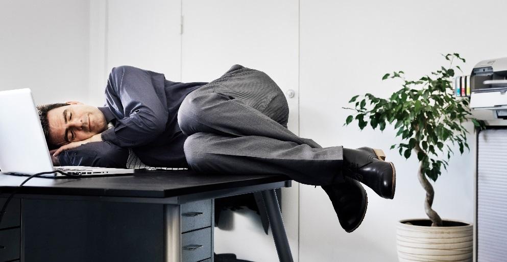 Dormire a lavoro
